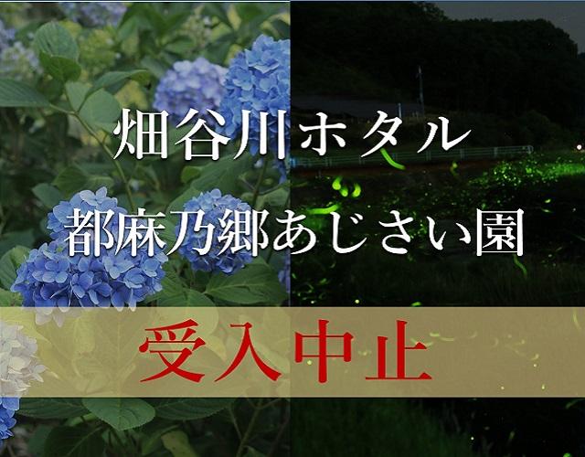 2021年 畑谷川ほたる観賞・都麻乃郷あじさい園の受入れを中止
