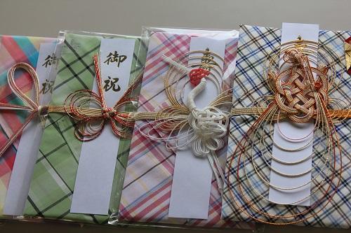 播州織ハンカチのし袋