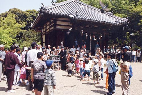 長明寺の頼政祭り