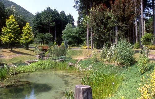 西脇市日本のへそ日時計の丘公園フォルクスガーデンのガーデン風景