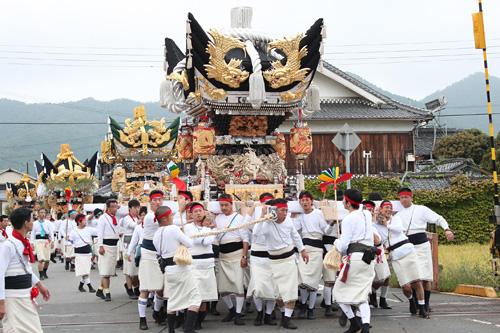 兵主神社の秋祭り