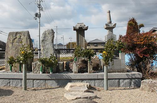 慶雲寺の境内