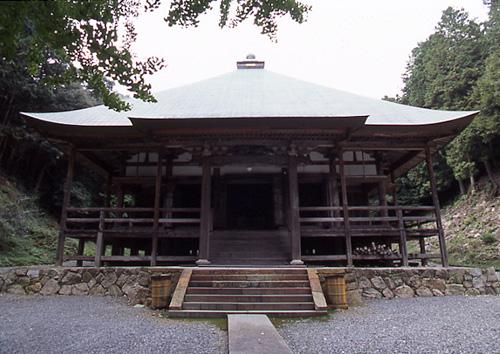 西仙寺の本堂