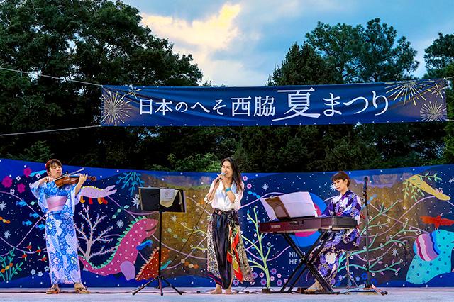 播州織ファッションショー「ヘソコレ」