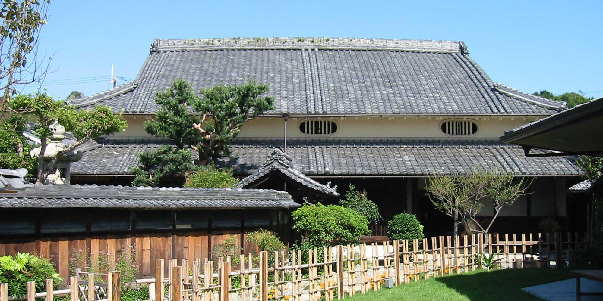 大正時代の高級民家 国登録有形文化財 旧来住家住宅